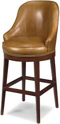 New Bar Bar Stool Stool Reproduction Reproduction Wood Leather Wood Leather