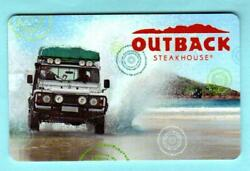 Outback Steakhouse Outback Off Roading 2013 Gift Card 0
