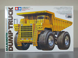 Vintage Rare New Tamiya 58268 R/c 1/20 Mammoth Tipper Dump Bed Truck 4wd