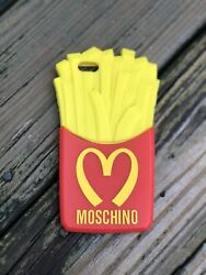 Moschino French Fries Cell Phone Case Iphone 5/5s/5c Cover Red Yellow Rubber
