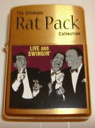 The Rat Pack Zippo Brass Lighter 2004 Limited Edition