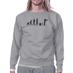 Zombie Evolution Grey Sweatshirt