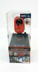 Ego Xtreme Sport Cam Red Mountable Camera By Liquid Image - Cheaper Than Gopro