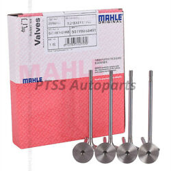 Mahle Oem Engine Intake And Exhaust Valves Set 6mm For Audi A4 A5 Vw Tiguan 2.0t