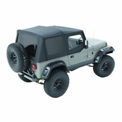 Bestop 79123-01 Sailcloth Replace-a-top Black For 1988-1995 Jeep Wrangler New