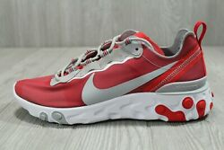52 New Nike React Element 55 Ohio State Red Mens Shoes Size 7.5-13 Ck4798-600