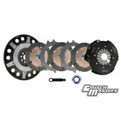 Clutch Masters 08037-3d7r-s Twin Disc Clutch Kit For Acura Csx / Ilx/ Rsx New