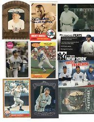 Babe Ruth Mickey Mantle Yankees Inserts Reprints Facsimile Autoand039s Lowered Prices