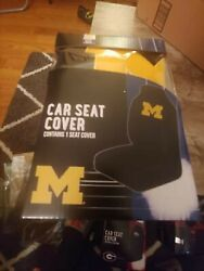 Northwest Michigan Wolverines Universal Fit Car Truck Front Bucket Seat Cover