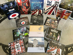 The Who - Studio And Live Concert Collection 18cds And 7dvds | Mint