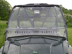 Arctic Cat Prowler 2010-14 Lexan Windshield With Quick Connect Clamps And Vents