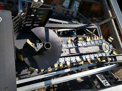 Tag 60 Grading Bucket 65mm Pins 5and039 Clean Out Bucket John Deere 120 Cat 311 312
