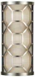Allegretto Sconce Wall Transitional Pierced Gallery 2-light Brown Hig