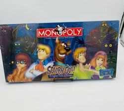 Scooby Doo Fright Fest Edition Monopoly Board Game 2000 New Factory Sealed