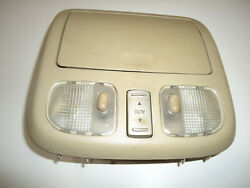 2006 Lincoln Zephyr Overhead Console With Sunroof Light Stone