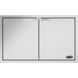 New Dcs 36 Stainless Steel Double Access Doors For Bbq Island