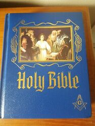 Masonic Holy Bible Edition Master Reference Heirloom Used