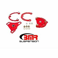 Bmr Suspension Cp001r Wheel Alignment Kit Caster/camber Plates Red Coated New
