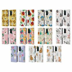 OFFICIAL HAROULITA ANIMAL PATTERNS LEATHER BOOK WALLET CASE FOR HUAWEI PHONES