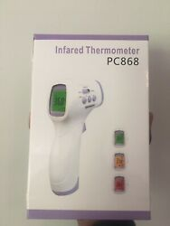 Lcd Digital Infrared Non-contact Forehead Thermometer Fda Certified Box 50 Qty.