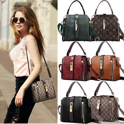 Lady Designer Handbags Casual Shoulder Bucket Bag Small Belt Crossbody Pruse  $18.99