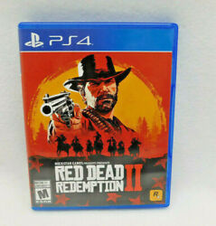Red Dead Redemption 2 Ii - Ps4 Playstation 4 - 2 Discs