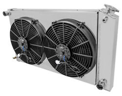 Deville Radiatorshroud 14 Fans And Relaychampion For Manual Trans Only