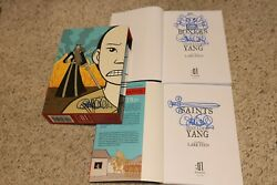 Gene Luen Yang Signed And Sketched Boxers And Saints Slipcover + Both Volumes Signed