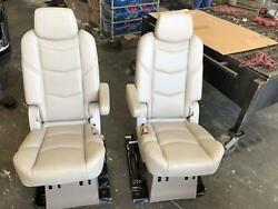 2015-219 Cadillac Escalade Tan Leather 2nd Row Seat Bucket Driver/passenger Side