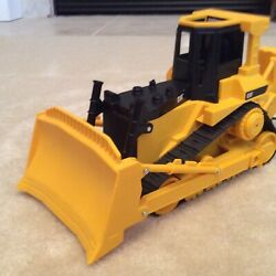 Cat Bulldozer Toy State Industries Battery Operated Caterpillar Tracked New