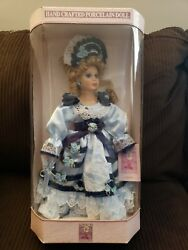 Hand Crafted Porcelain Doll Rare Collectible - Sandra ... New In Box Excellent