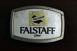1970and039s Flastaff Beer Brewing Co. Belt Buckle St. Louis Missouri