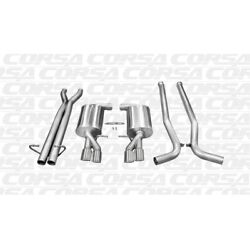 Corsa 14540 2.5 Cat-back Dual Rear Exit For 09 Audi S4 New