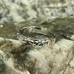 Official Welsh Clogau Platinum Tree Of Life Wedding Ring Andpound1140 Off Size U
