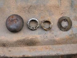 1968-1972 Mustang Torino Brake Spindle Nut Washer Safety Cup Wheel Hub Dust Cap