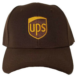 UPS HAT ONE SIZE FITS ALL ADJUSTABLE EMBROIDERY $16.99