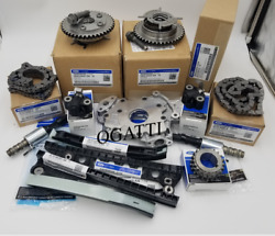 2000-2010 Timing Chain Kit 14 Pieces New Ford Oem F-250-550 Sd 5.4l V8 24v Ohv
