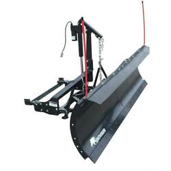 82 Pro Shovel Snow Plow Kit With An Actuator Lift System For Trucks / Suvs