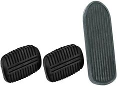 Oer Accelerator/brake/clutch Pedal Pad Set 1947-1952 Chevy And Gmc Pickup Trucks