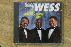 Super Rare Sealed New Going Wess-frank Wess/bobby Forrester/tootsie Bean Cd