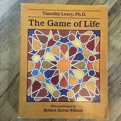 Autographed Signed Timothy Leary - The Game Of Life Occult Esoteric Psychedelic
