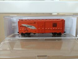 Yesteryear Models N Scale Yym6304wi Western Pacific 40' Boxcar Wp Intermountain