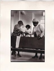 The Hand Shake  .st Peter Church Of God 1974  Vintage Lavoux Photograph