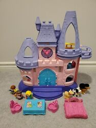 Fisher-price Little People Disney Princess Songs Palace Incomplete