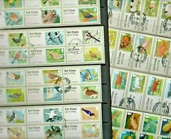Gb 2010c-13c Birds Fish Animals Collection 48 Used Post And Go Labels Refqt29