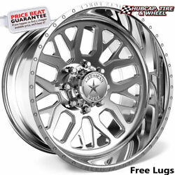 American Force Ck18 Panic Concave Polished 22x12 Truck Wheel 8 Lug Set Of 4