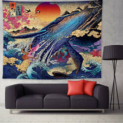 Psychedelic Printing Background Cloth Painting Wall Hanging Home Decor Tapestry $16.44