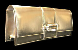New Women#x27;s Colorful Creations Gold Purse Evening Clutch Wedding Prom DP3506 $12.59