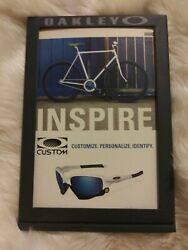 NEW METAL OAKLEY ICON POP BRANDING DISPLAY FRAME MAGNETIC 7quot;x5quot; 100% AUTHENTIC $29.99