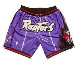 Just Don X Mitchell And Ness Andbull Raptors Shorts Andbull Brand New Size Large
